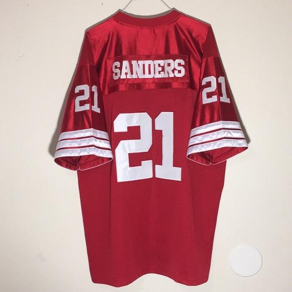 ce8ee23116624 NFL Shirts | Deion Sanders Francisco 49ers Throwback Jersey | Poshmark